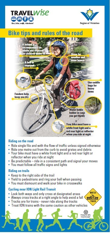 Bike Tips - Region of Waterloo